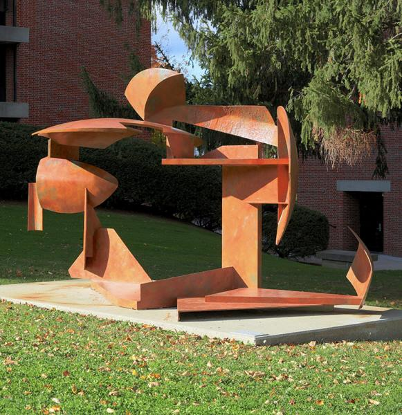 Isaac Witkin (American, 1936-2006), Succoth, 1975. Steel, 10 x 9 x 19 ft. Gift of Jacques and Donatella Lennon. (91.2.1)