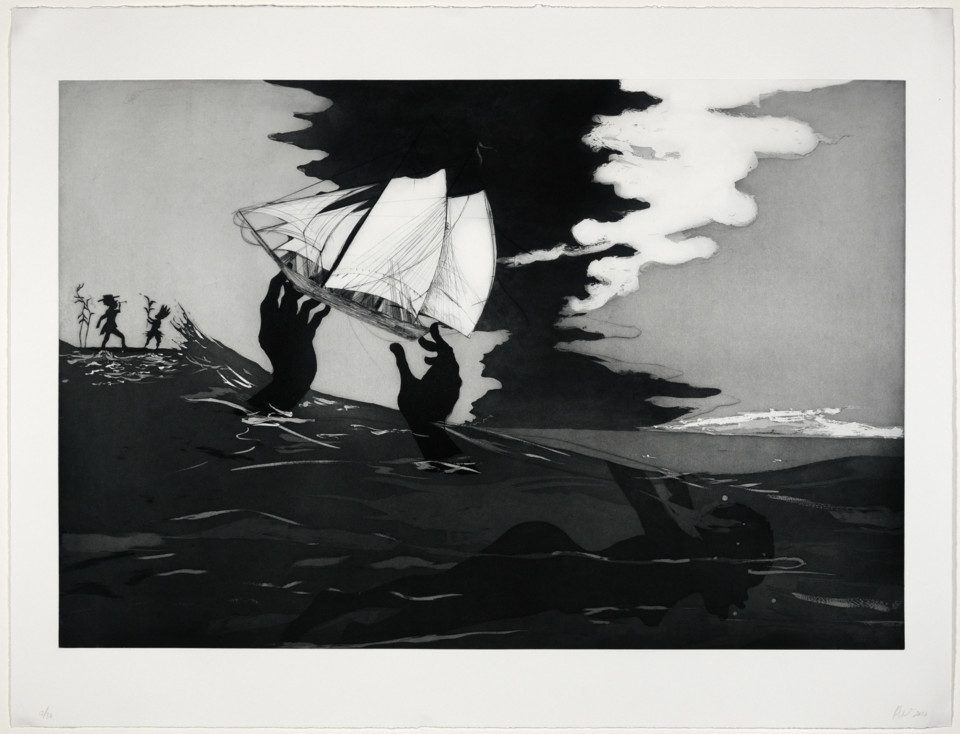 Kara Walker (American, b. 1969), no world (from