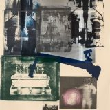 Robert Rauschenberg (American, 1925–2008) Hot Spot, 1983. Lithography in 19 colors on Arches Cover buff paper. Gift of Hiram Butler, MA'79 in honor of Earl A. Powell, III, Class of '68, M.2016.9