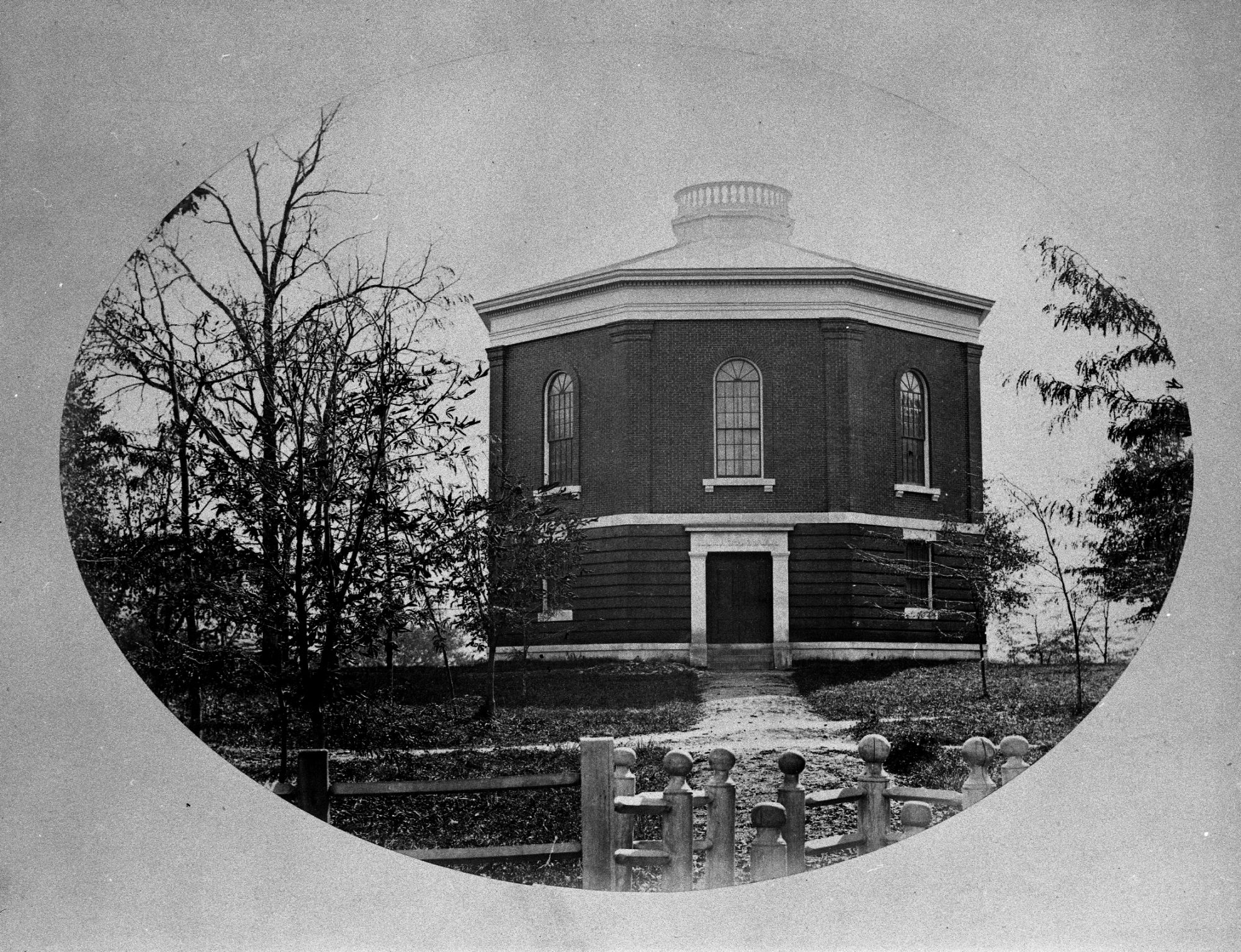 View of Lawrence Hall from 1846.