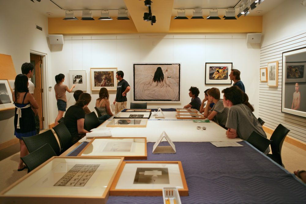 Class in 2009 in Rose Study Gallery.