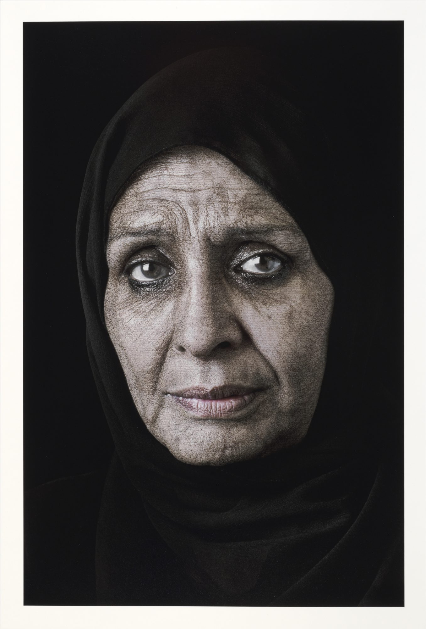Shirin Neshat, (American and Iranian, b. 1957) Ghada (from