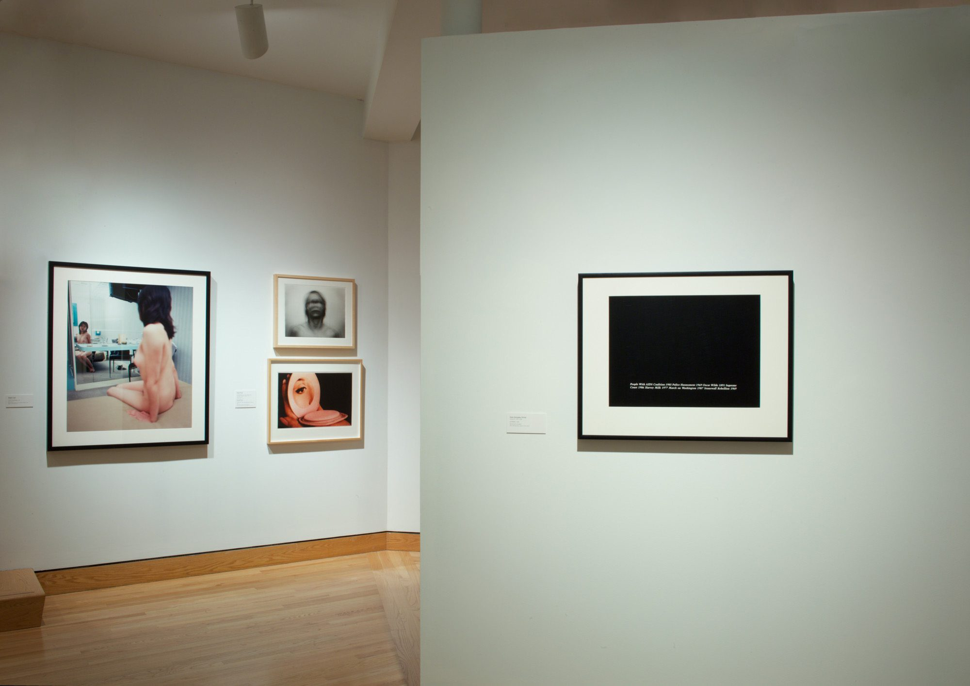 Installation photography by Arthur Evans.