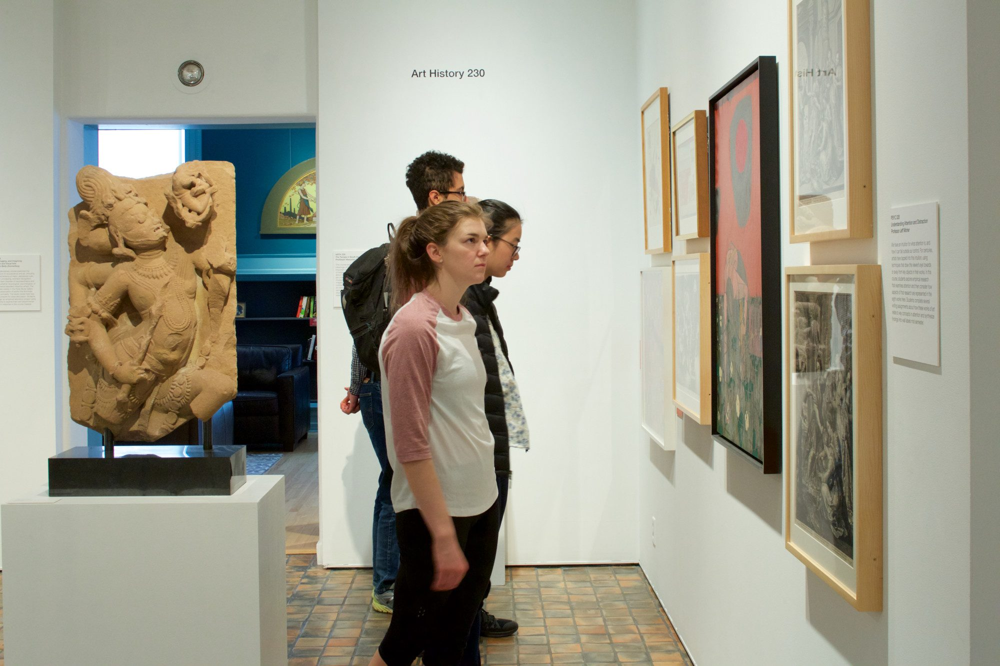 Object Lab is a hybrid gallery-classroom and a responsive pedagogical platform. Spring classes from