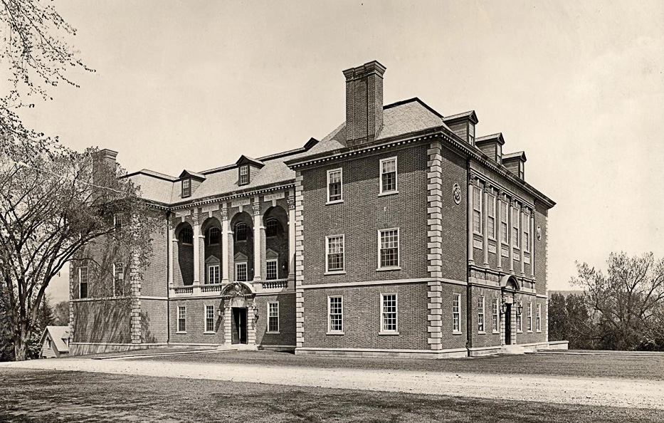 Stetson Hall from 1923