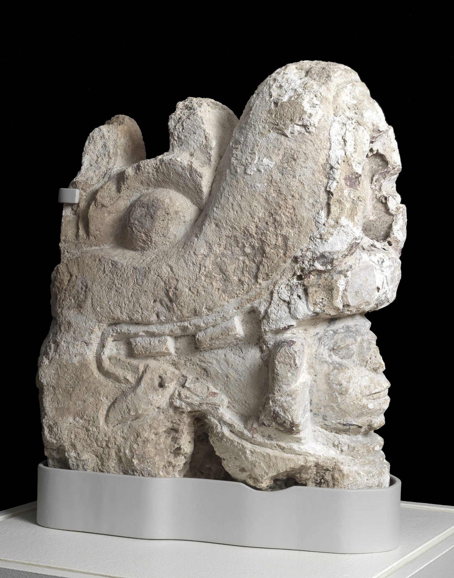 Guardian Spirit from the Northwest Palace of Ashurnasirpal II, ca. 880 BC, gypsum. Gift of Sir Austen Henry Layard through Dwight W. Marsh, Class of 1842. 1851.1