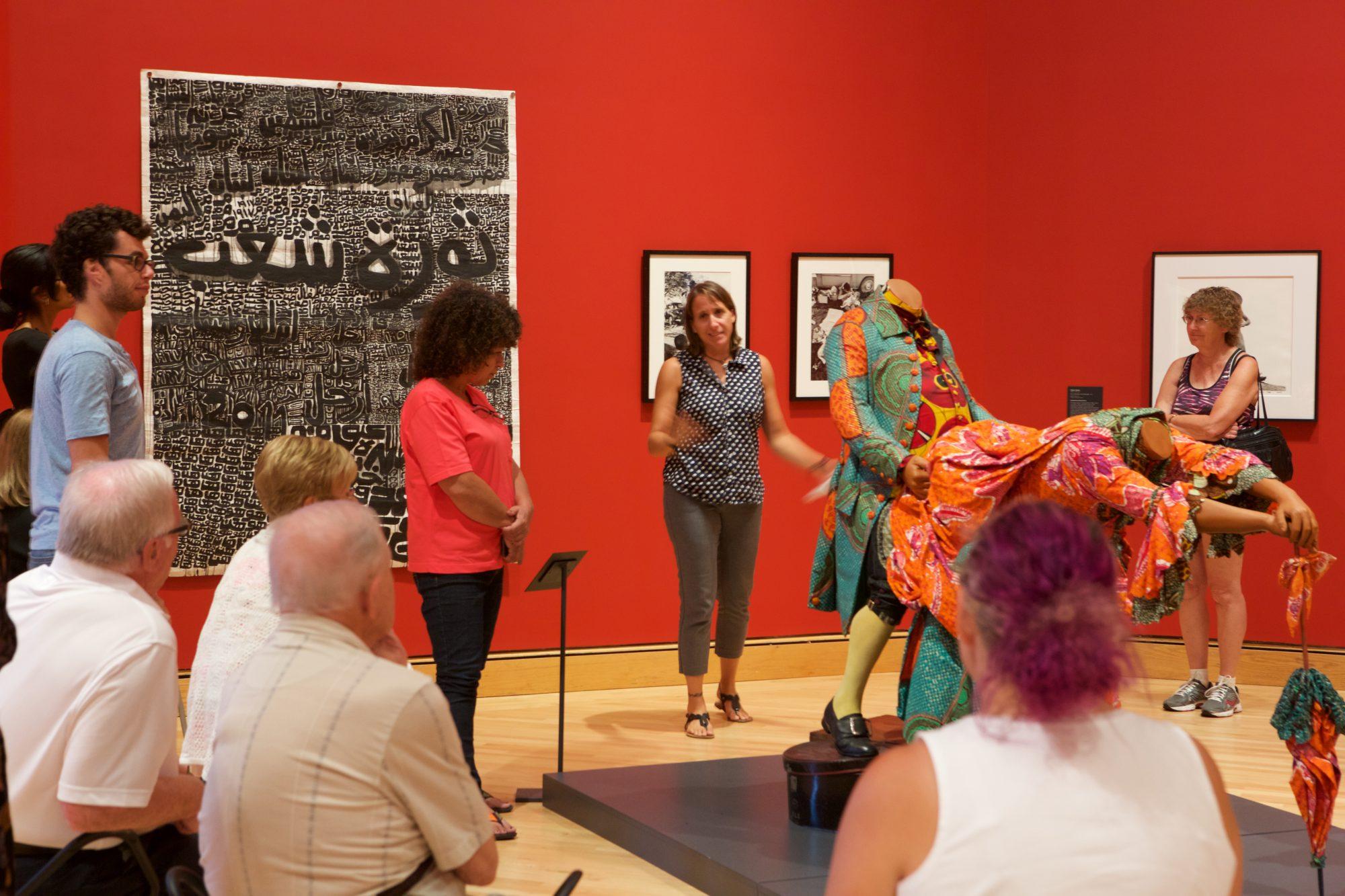 Summer School: The Politics of Identification in African Art. Photo by Arthur Evans.
