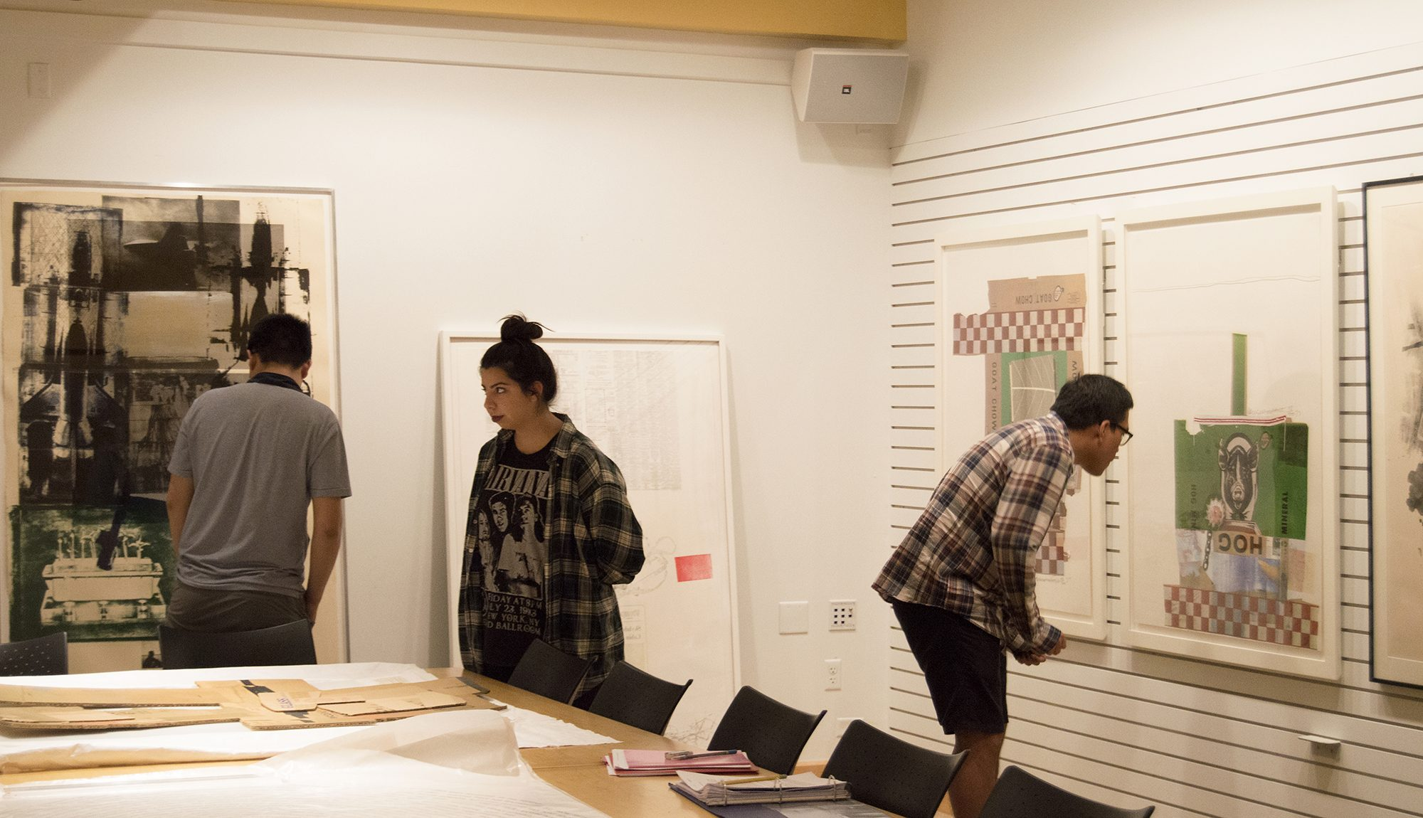 Students in the Rauschenberg Course