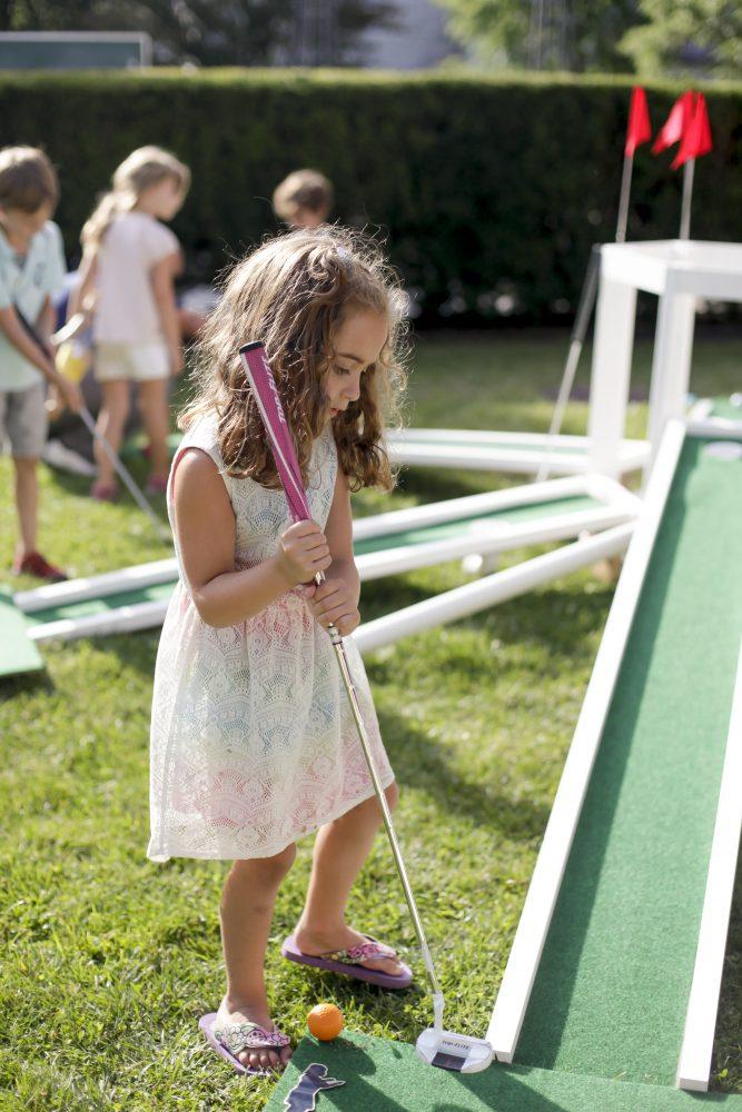 "Summer School 2016. Dan and Lexa Walsh, ""Athletics and Aesthetics: Mini Golf."" Photo by Kate Drew Miller."