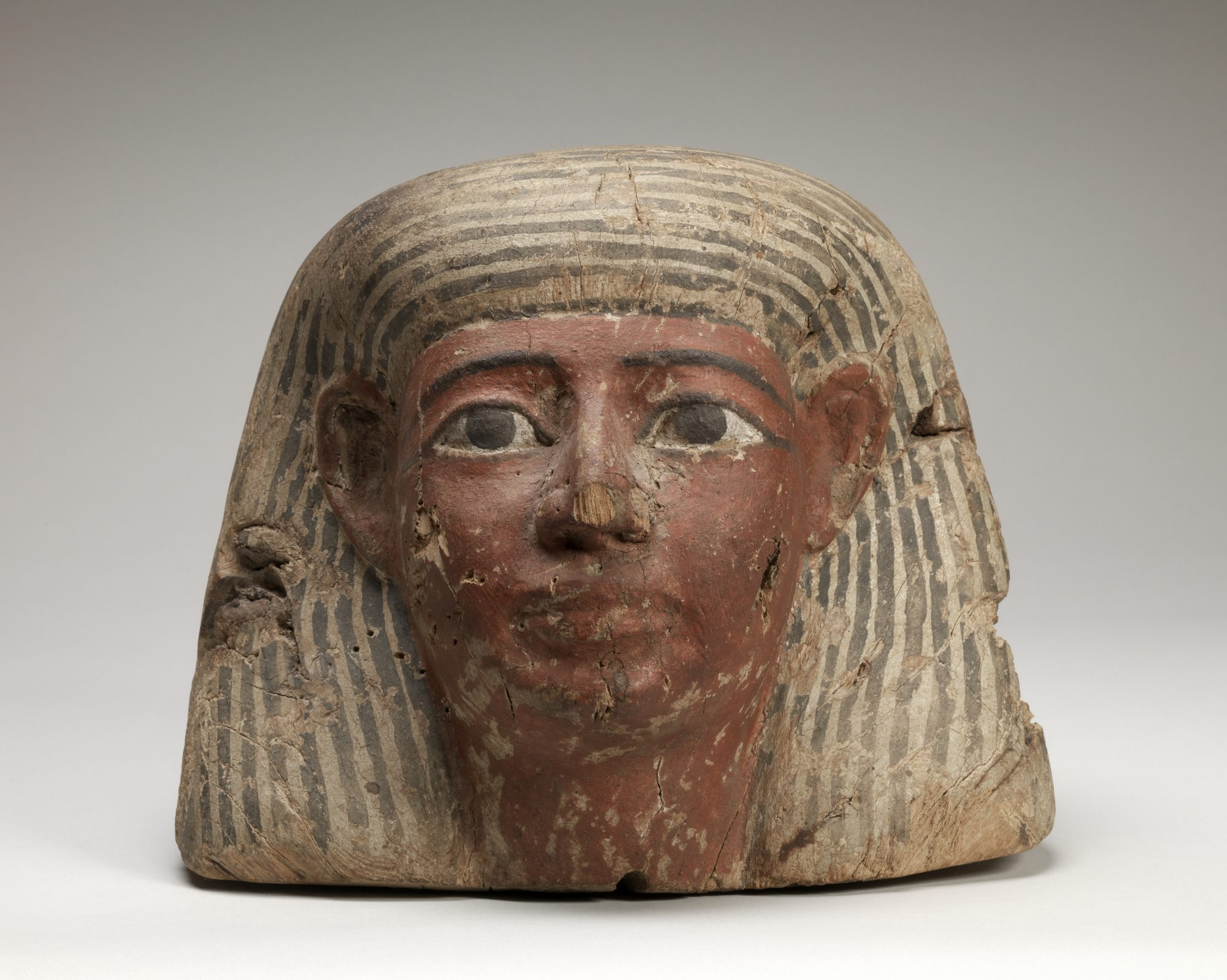Unknown artist (Egyptian) Painted wood, 22nd–26th Dynasties (c. 945–525 BCE). Museum purchase, 61.4