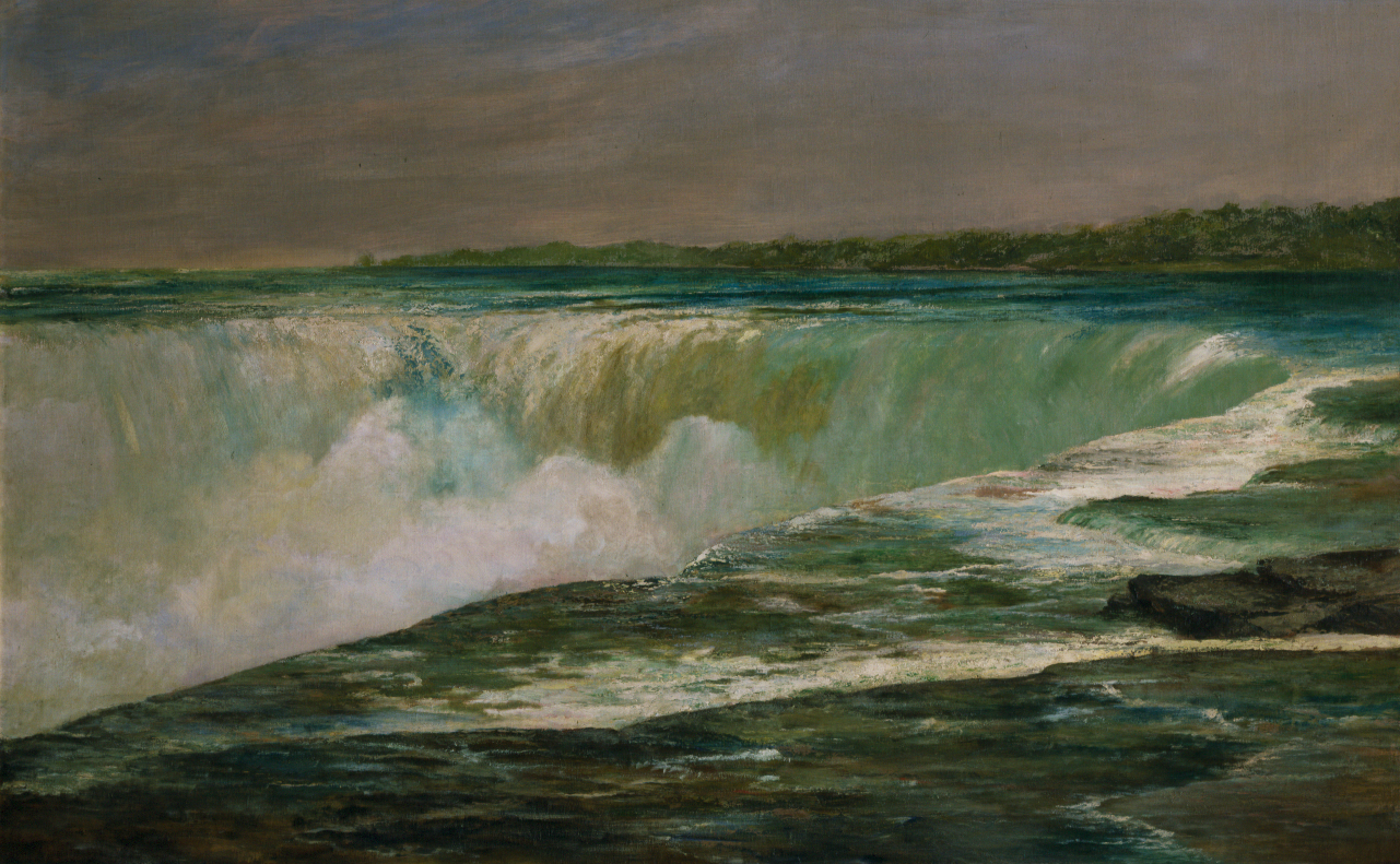 William Morris Hunt (American, 1824–1879) Niagara Falls, 1878. Oil on canvas. Gift of the estate of J. Malcolm Forbes, 61.7