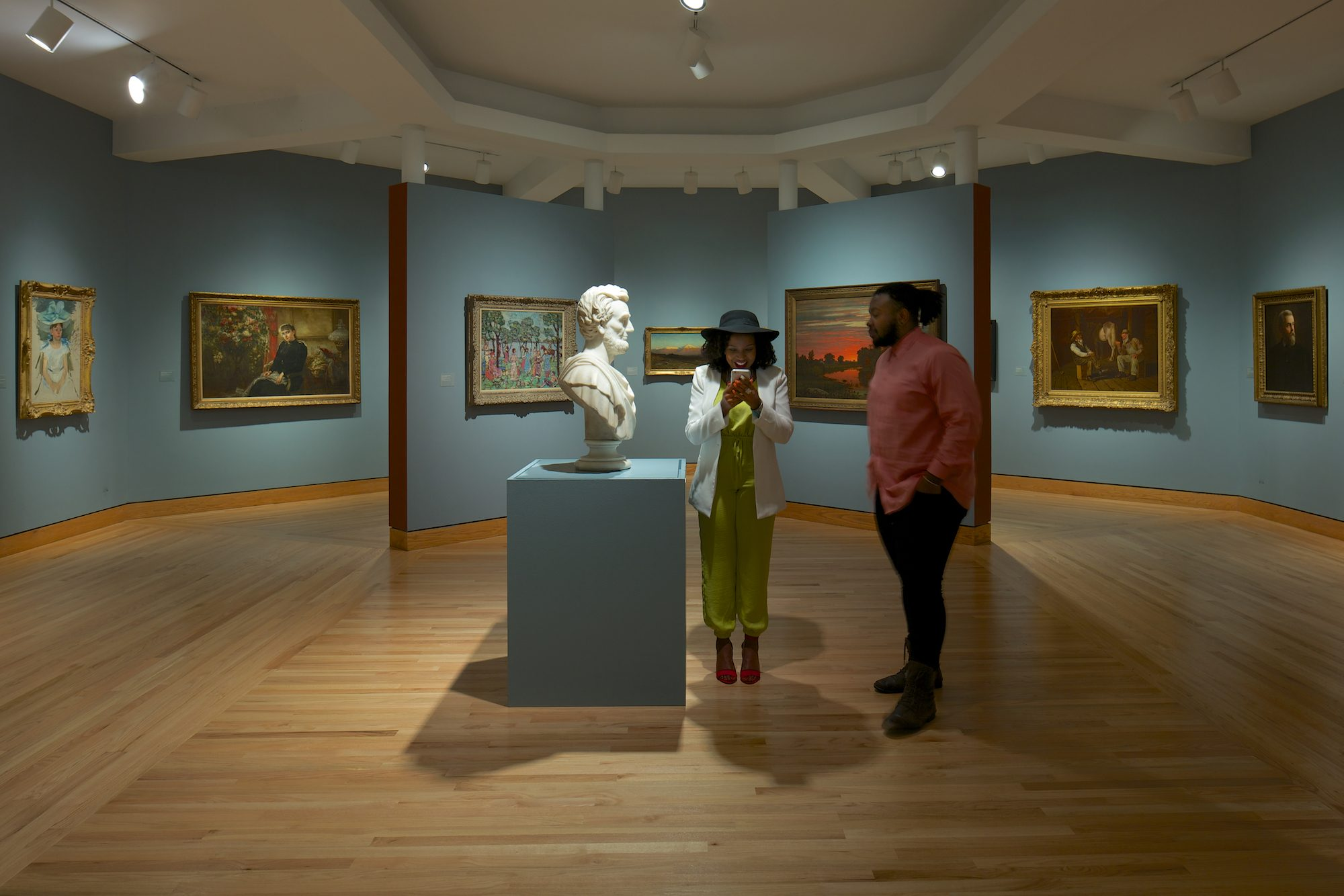 Installation view of Three Centuries of American Art