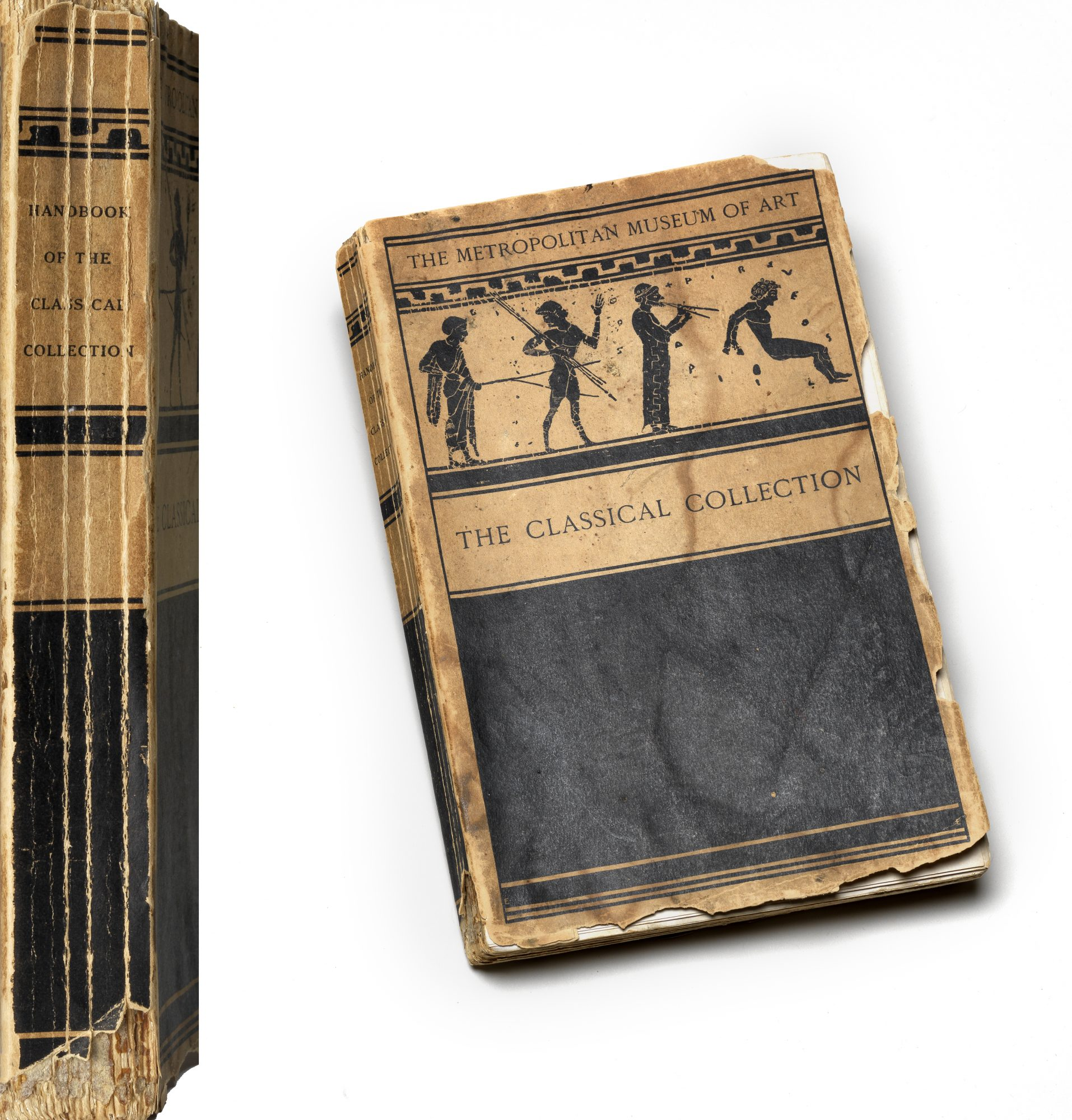 Gisela M. Richter, The Metropolitan Museum of Art: Handbook of the Classical Collection, 1917. 8 3/4 x 6 3/4 x 3/4 in. Williams College Museum of Art, Prendergast Archive and Study Center, Gift of Mrs. Charles Prendergast, A.1.204