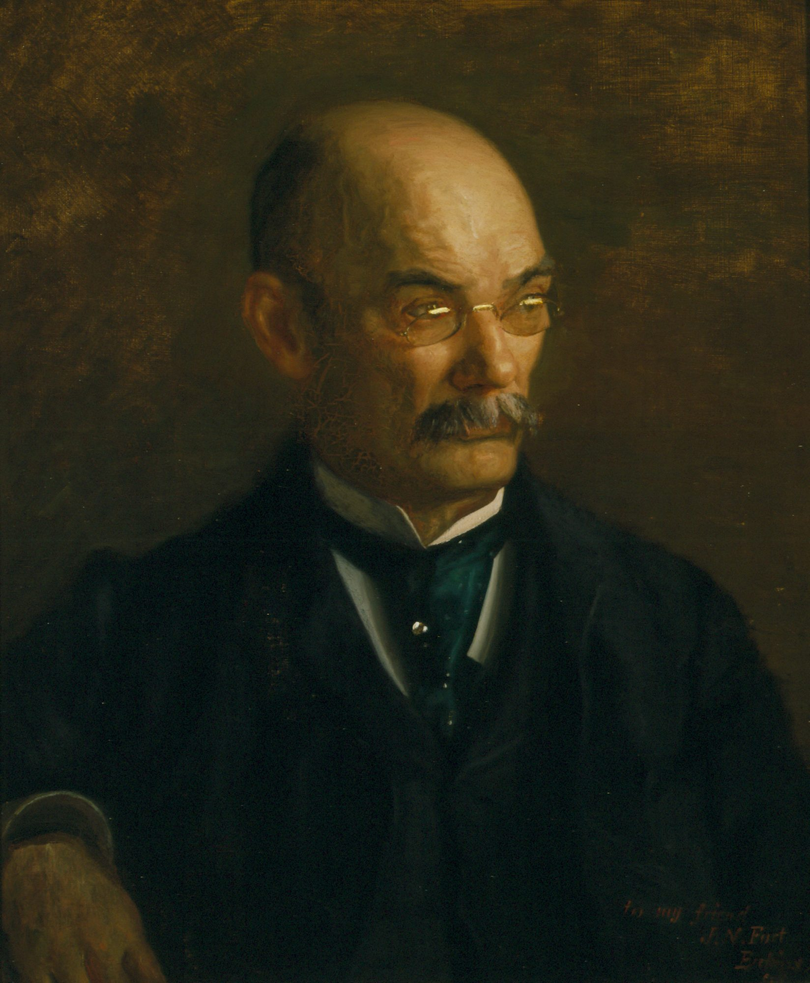 Thomas Eakins (American, 1844–1916) Portrait of John Neil Fort, 1898. Oil on canvas. Bequest of Lawrence H. Bloedel, Class of 1923, 77.9.115