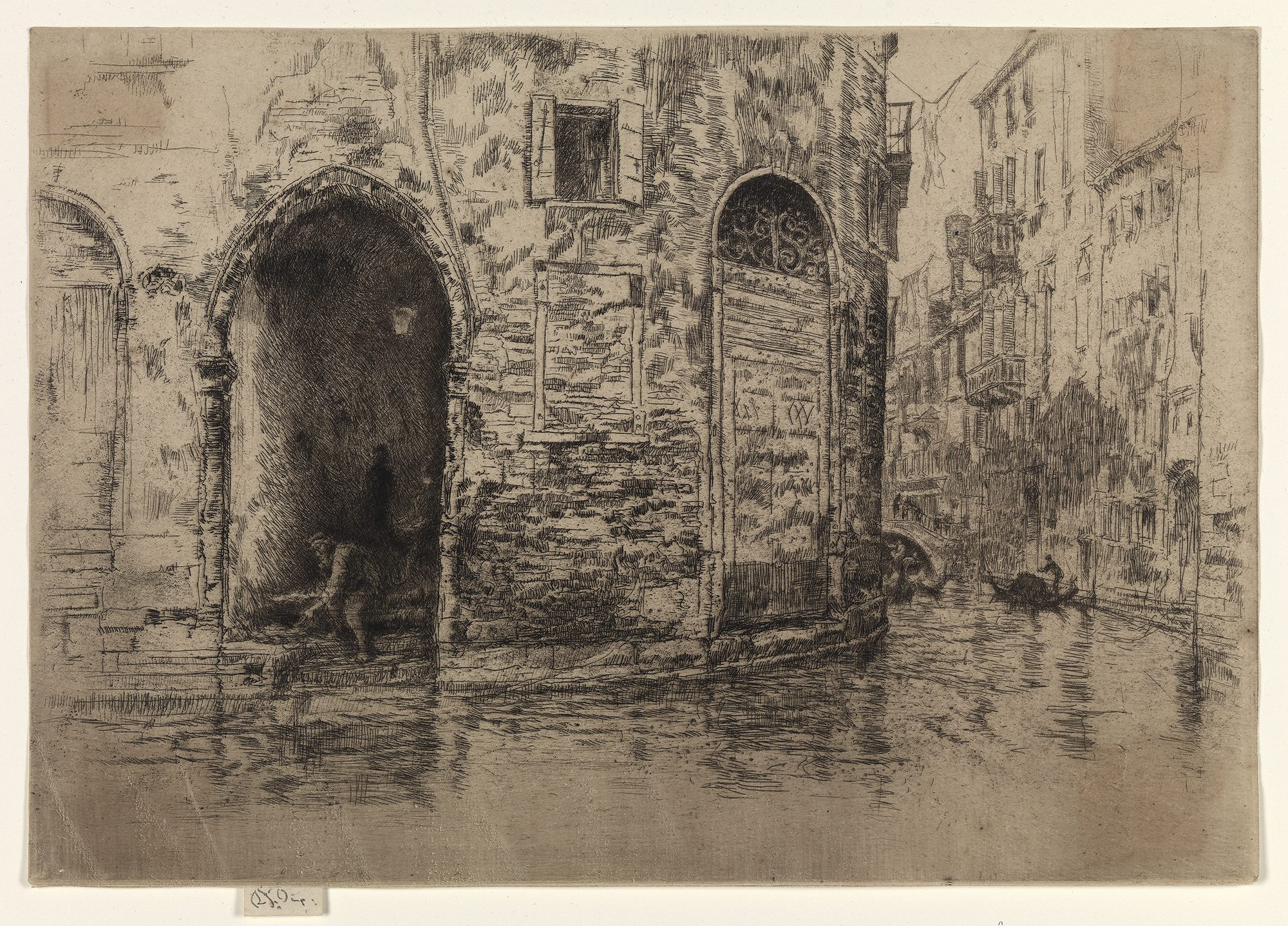 James Abbott McNeill Whistler, The Two Doorways (from
