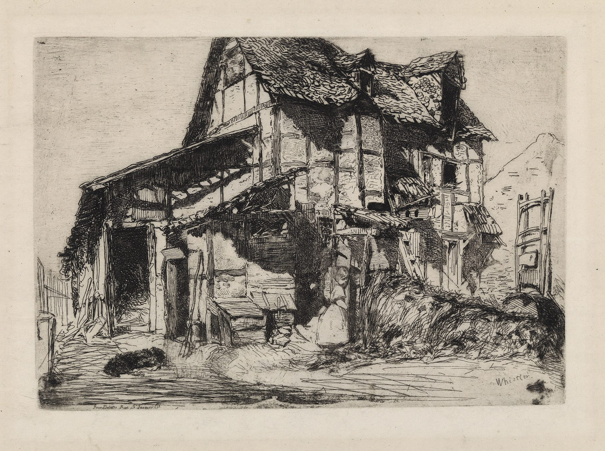James Abbott McNeill Whistler, Unsafe Tenement (From