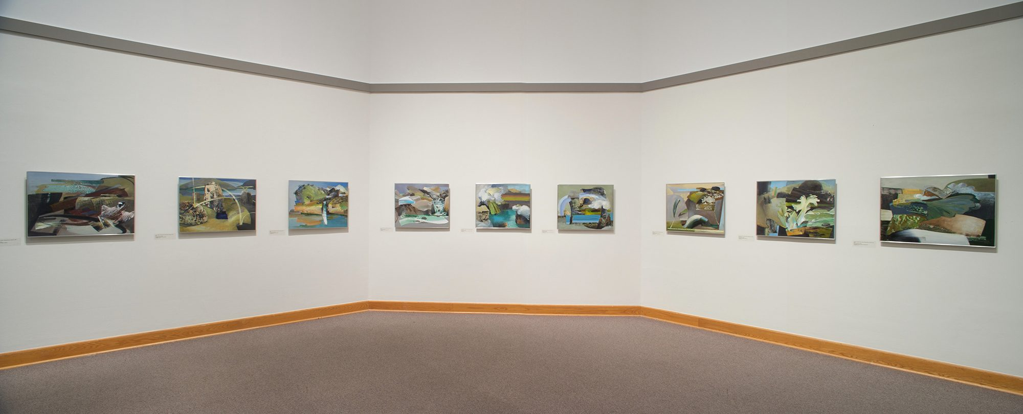 Mike Glier. Installation photo by Arthur Evans.
