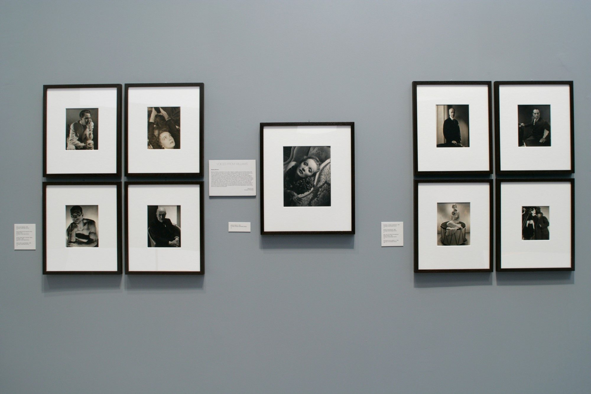 Edward Steichen: In High Fashion the Condé Nast Years, 1923–1937. Installation photo by Arthur Evans.