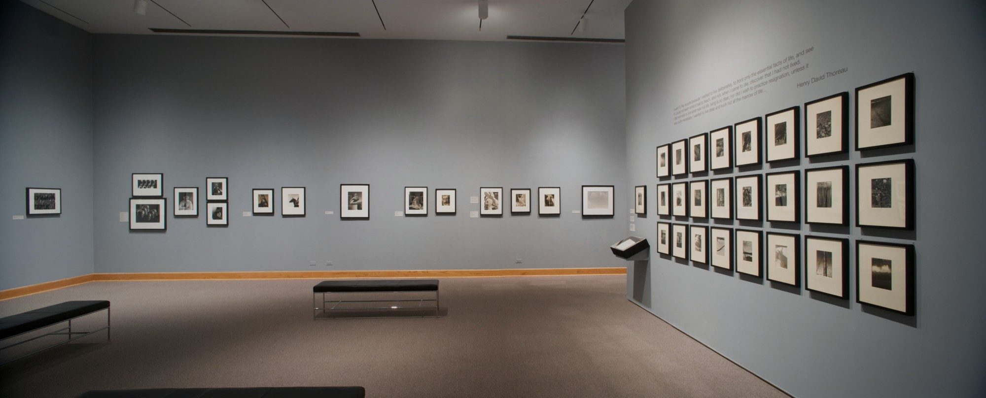 Edward Steichen: Episodes from a Life in Photography. Installation photo by Arthur Evans.