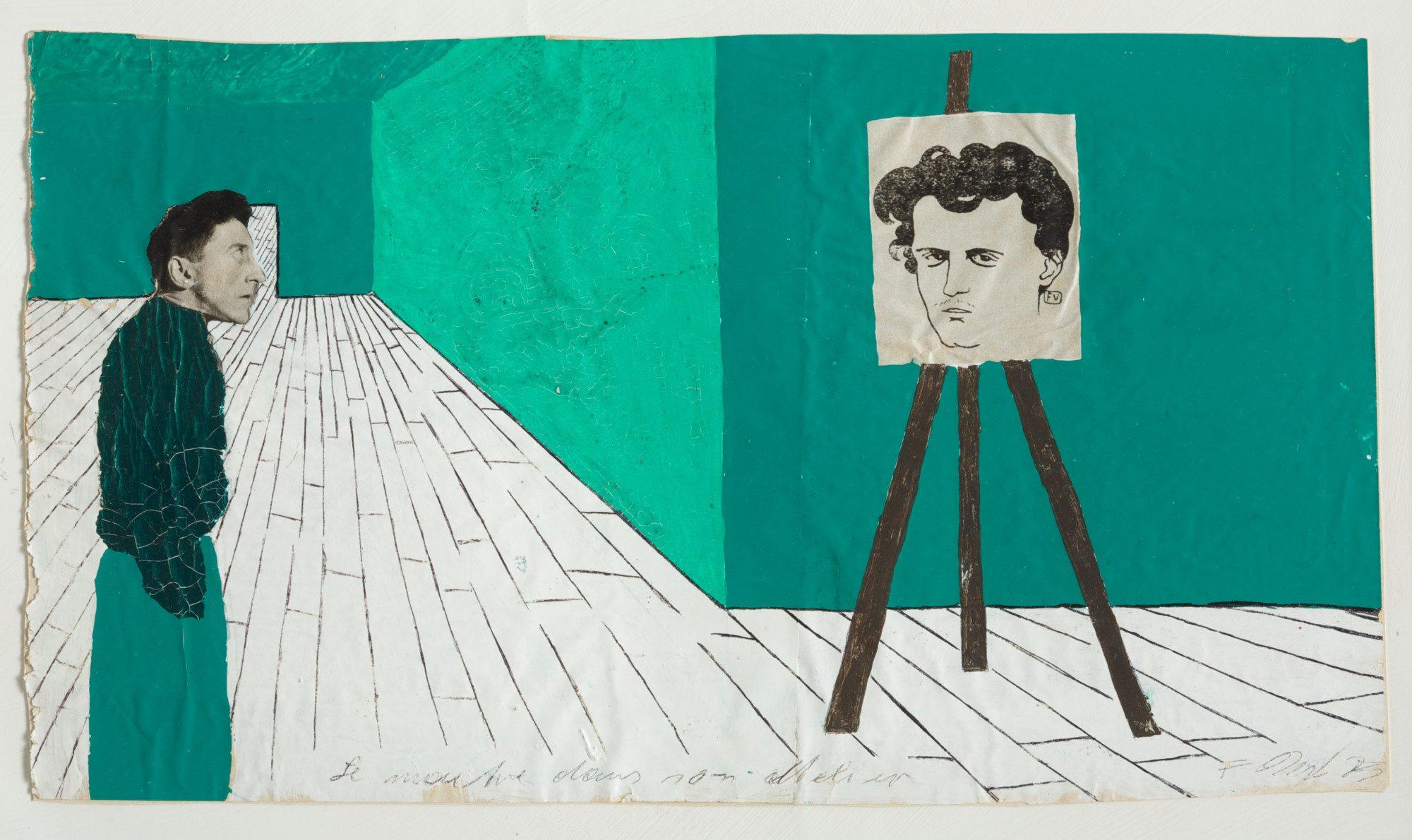 Franz West Le maître dans son atelier
