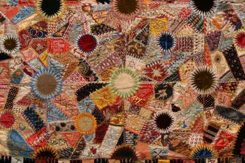 Detail of installation photo by Arthur Evans.
