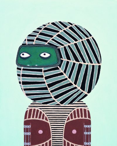 Laylah Ali, Untitled, 2004, gouache and pencil on paper, Collection of The Studio Museum in Harlem, New York. Photo courtesy of the artist.