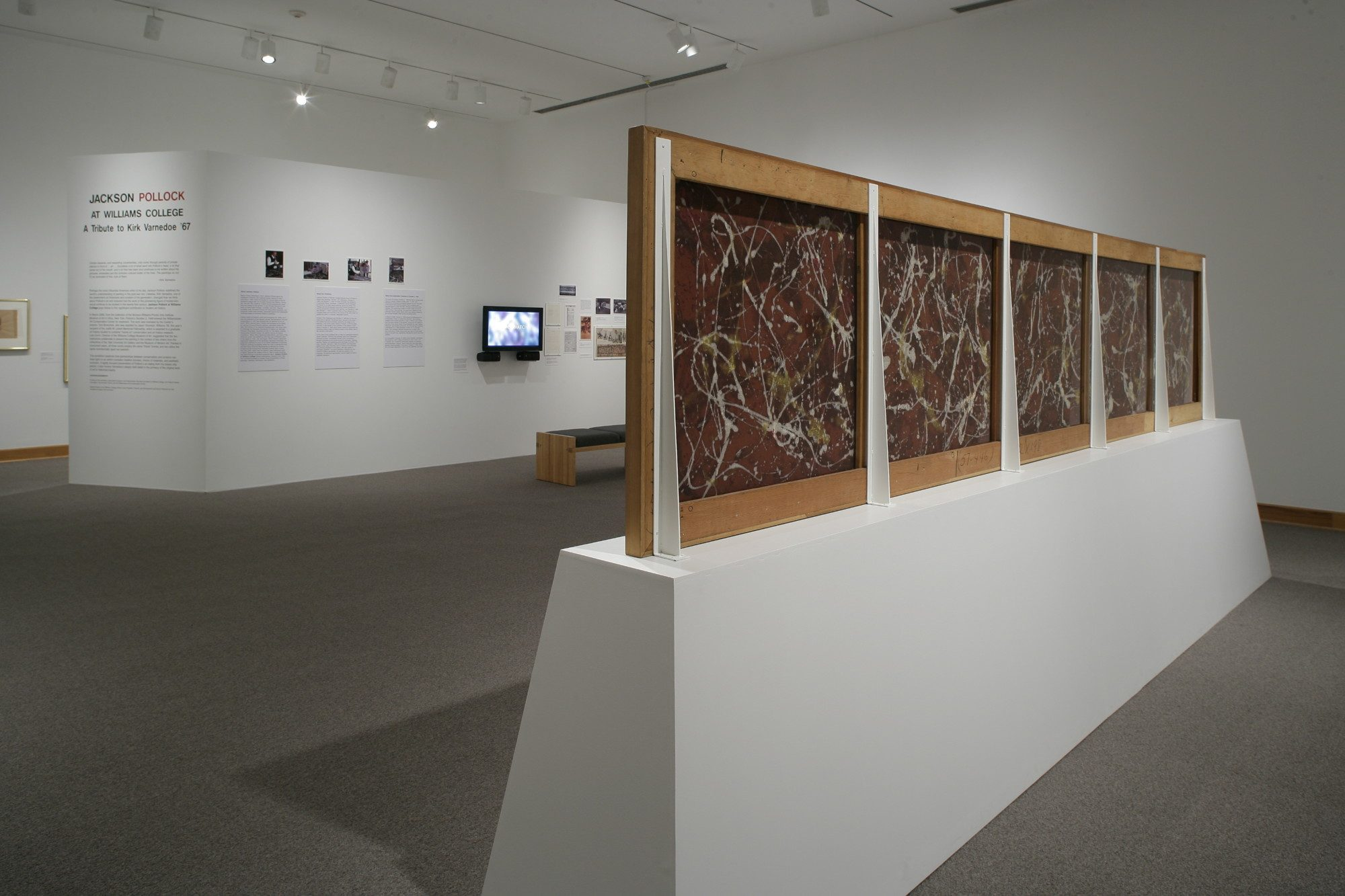 Installation photo by Arthur Evans.