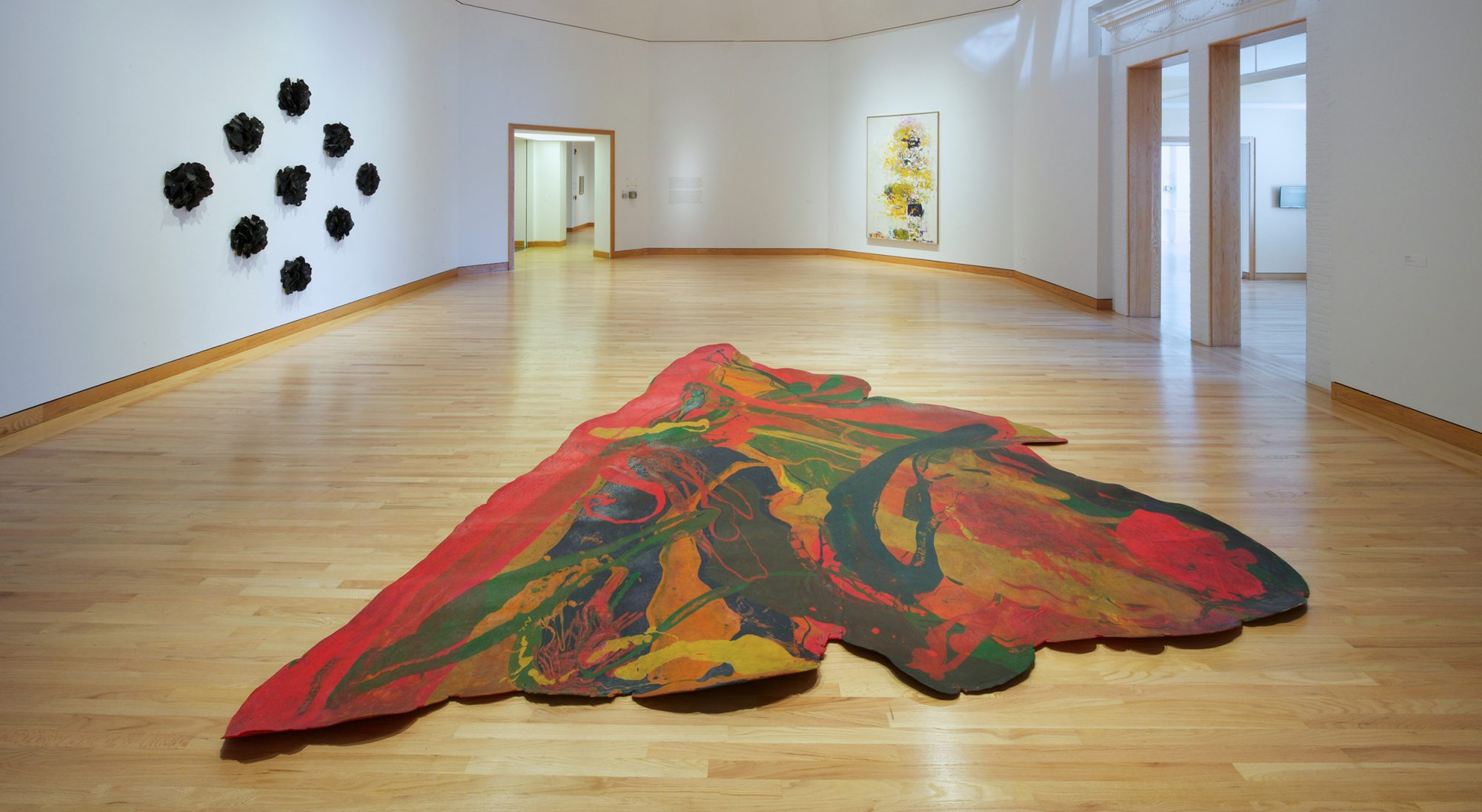 Installation view. American Art 1950-1979. Photo by Arthur Evans.