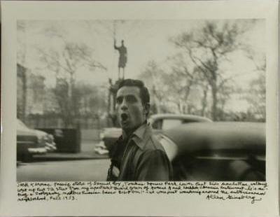 Allen Ginsberg (American, 1926-1997, Jack Kerouac, New York, 1953. Gelatin silver print, 11 x 14 in. Museum purchase, John B. Turner '24 Memorial Fund. M.2003.29.3