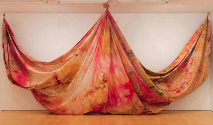 Sam Gilliam (American, b. 1933 ), Situation VI–Pisces 4, c. 1972. Courtesy of Joseph Goddu Fine Arts, Inc., New York.