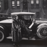 James Van Der Zee (American, 1886–1983), Couple Harlem, negative 1932, printed 1974. (Detail). Gelatin silver-toned print, 7 1/2 x 9 1/2 in. Museum purchase, Otis Family Acquisition Trust, M.2017.9.16