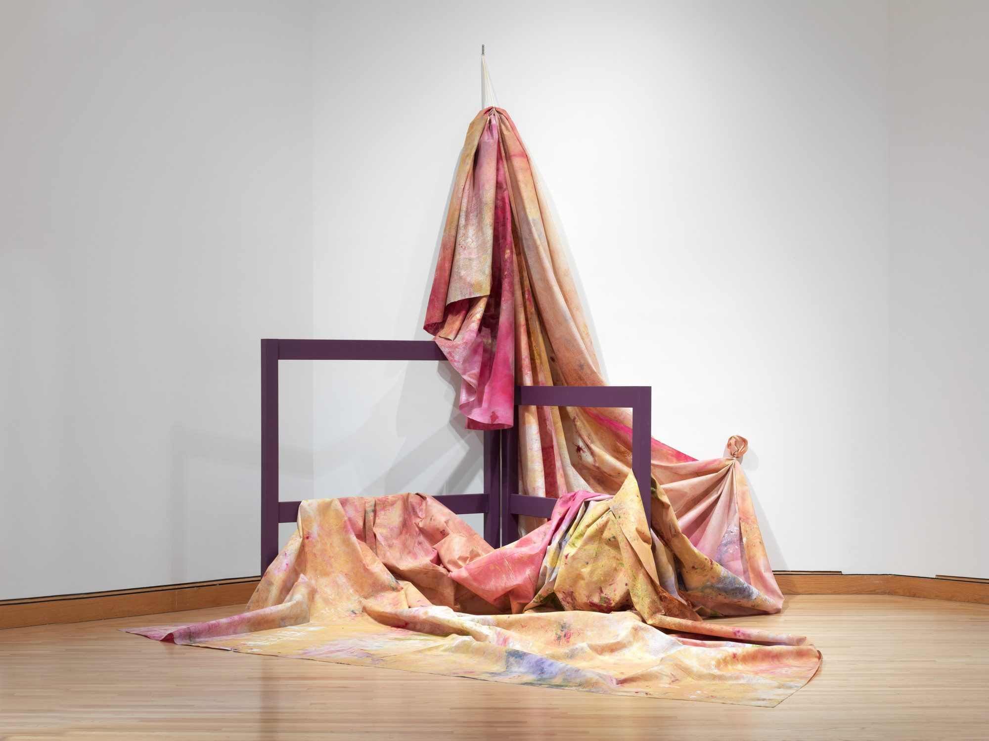 Sam Gilliam (American, b. 1933 ), Situation VI–Pisces 4, c. 1972. Museum purchase, Otis Family Acquisition Trust and Kathryn Hurd Fund. Photo by Jim Gipe photo / Pivot Media.