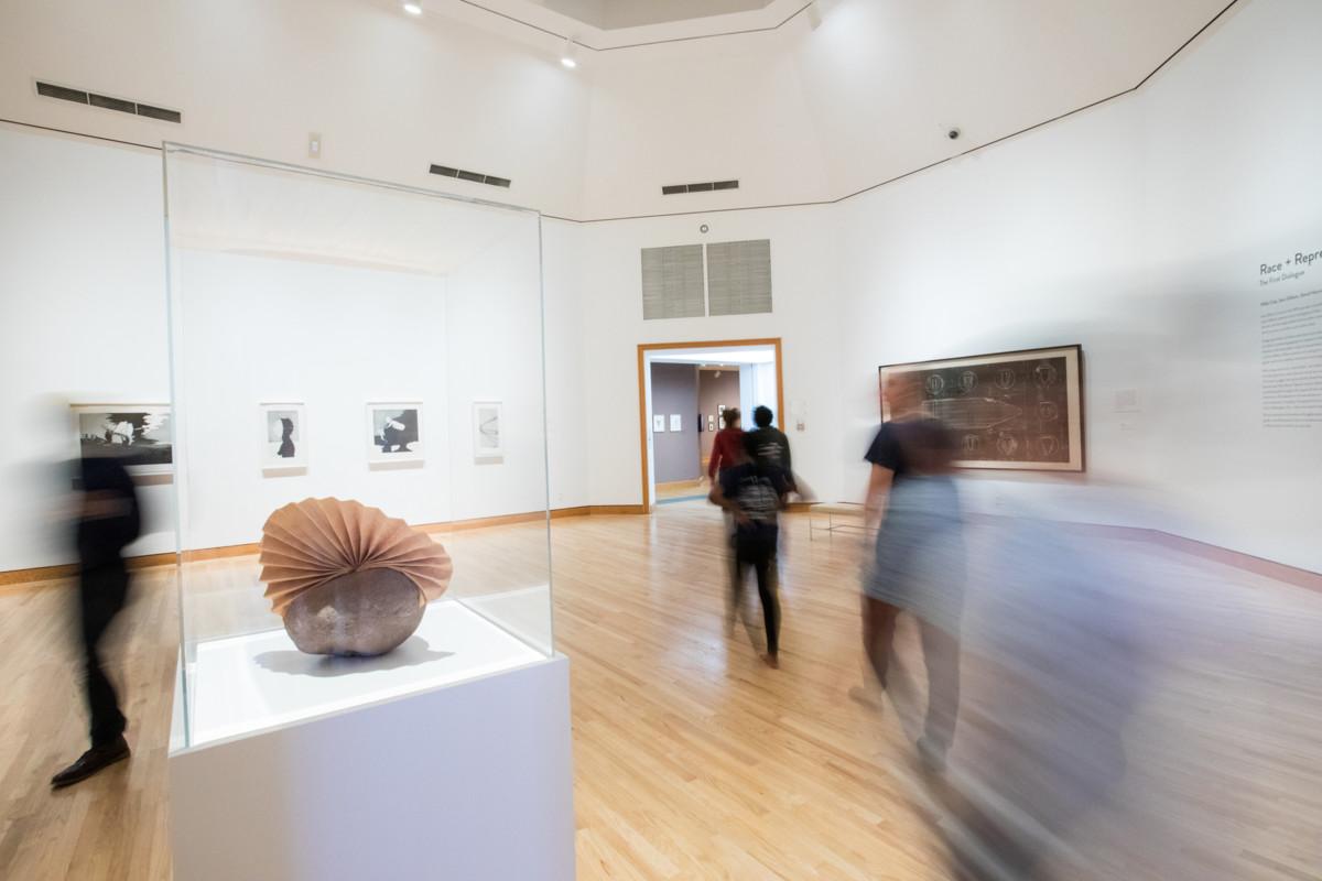 Sam Gilliam - In Dialogue Race+Representation Installation view