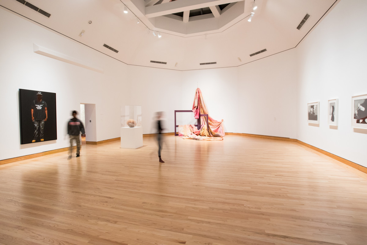 Sam Gilliam - In Dialogue Race+Representation Installation view