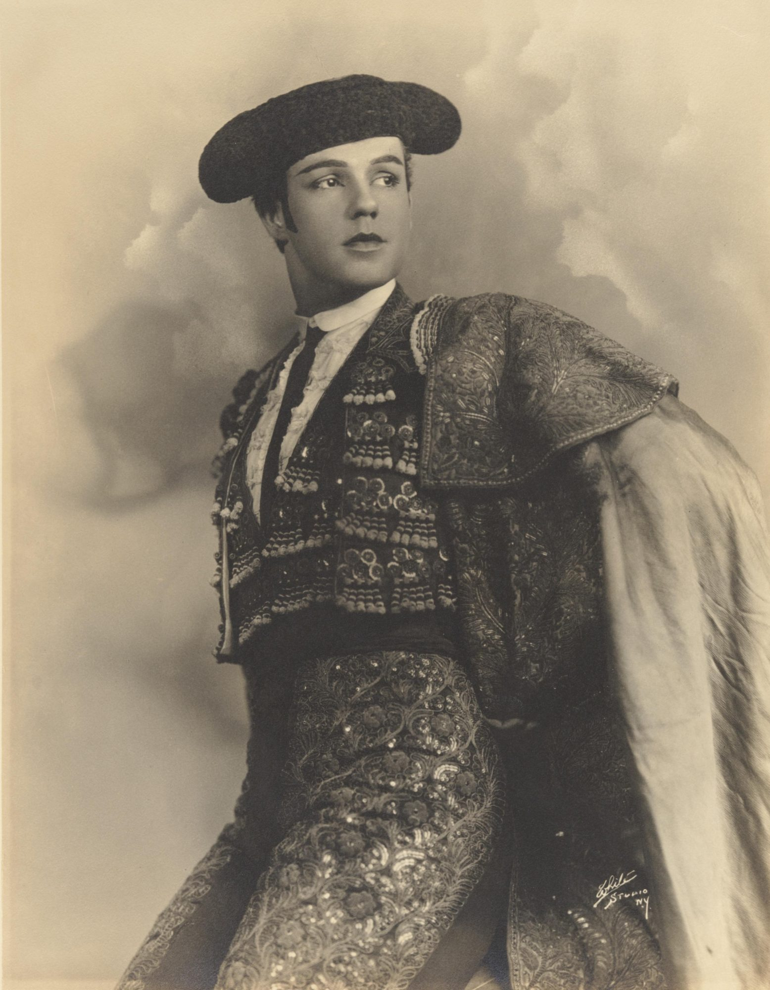 White Studios, Ted Shawn in Costume for Cuadro Flamenco, ca. 1923. Courtesy of Jacob's Pillow Dance Festival Archives.