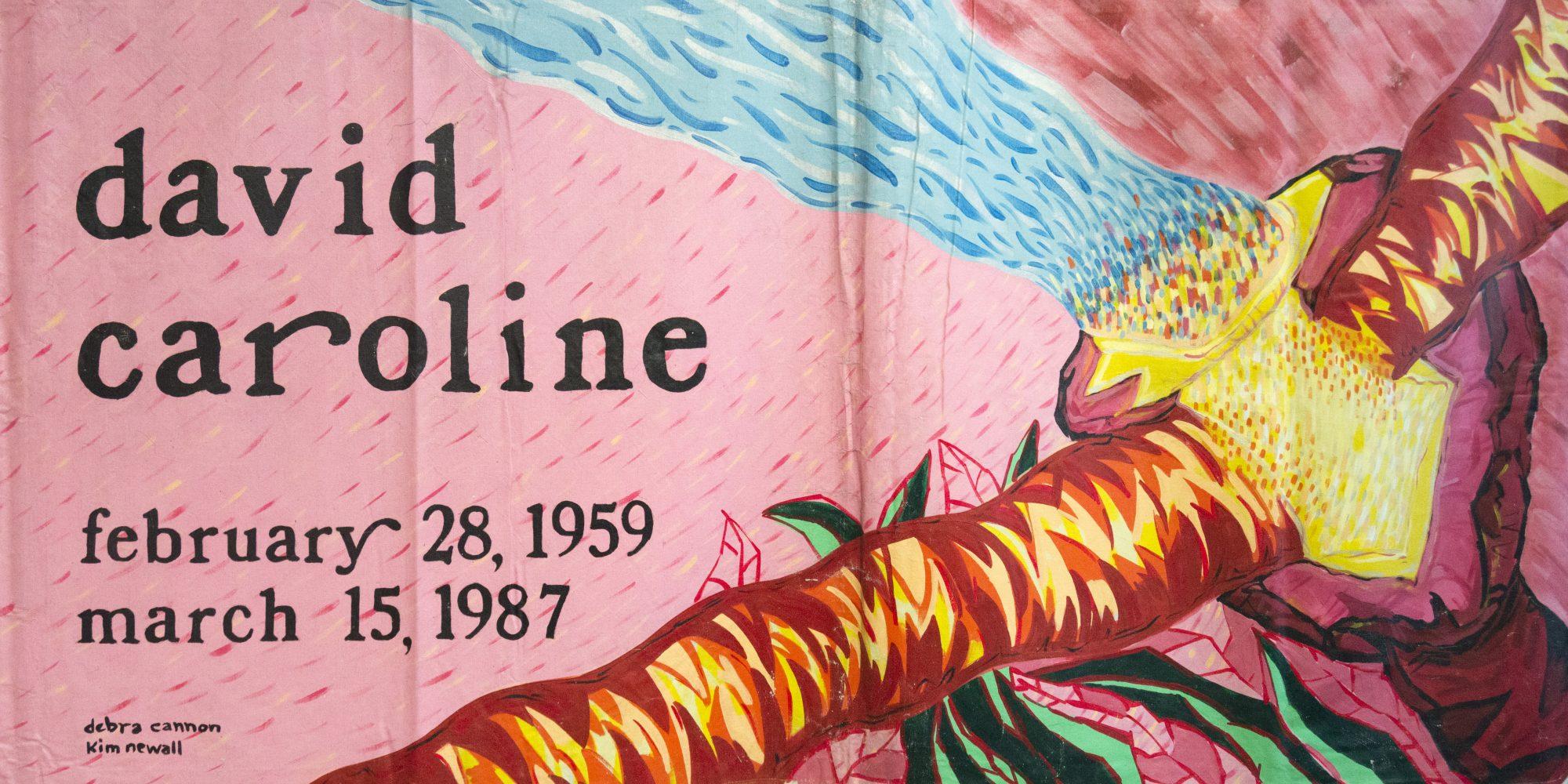 AIDS Memorial Quilt, David Caroline