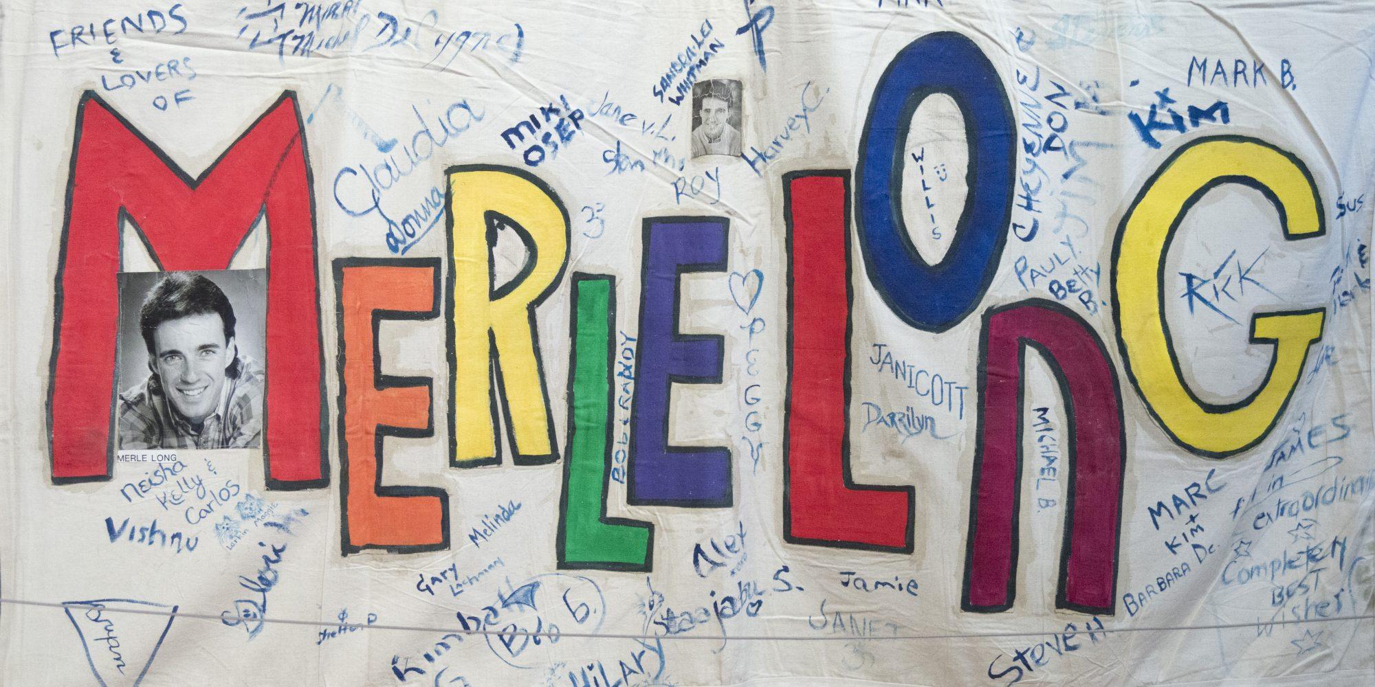 AIDS Memorial Quilt, Merle Long