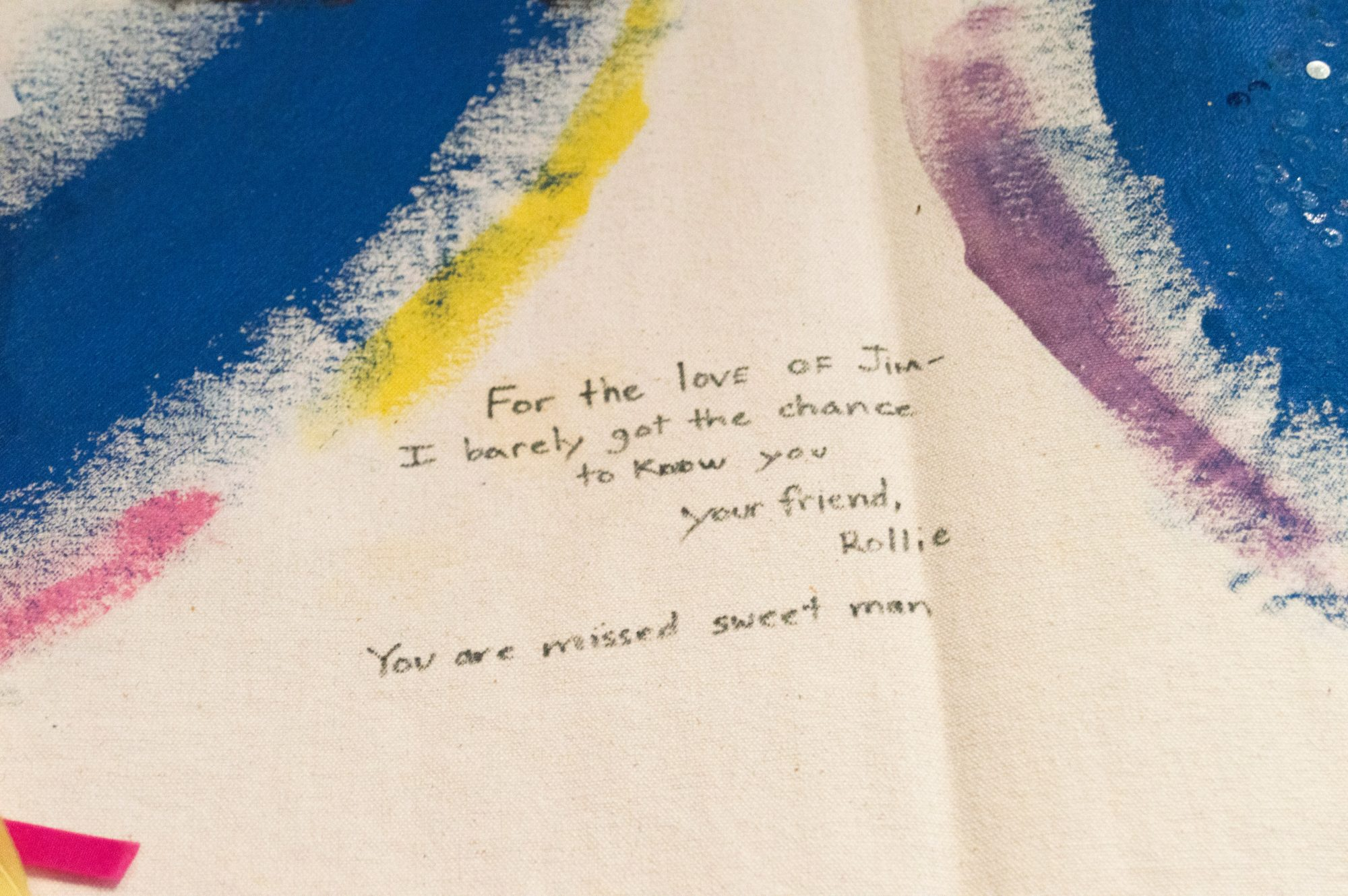 AIDS Memorial Quilt, James Brooke Shoulberg