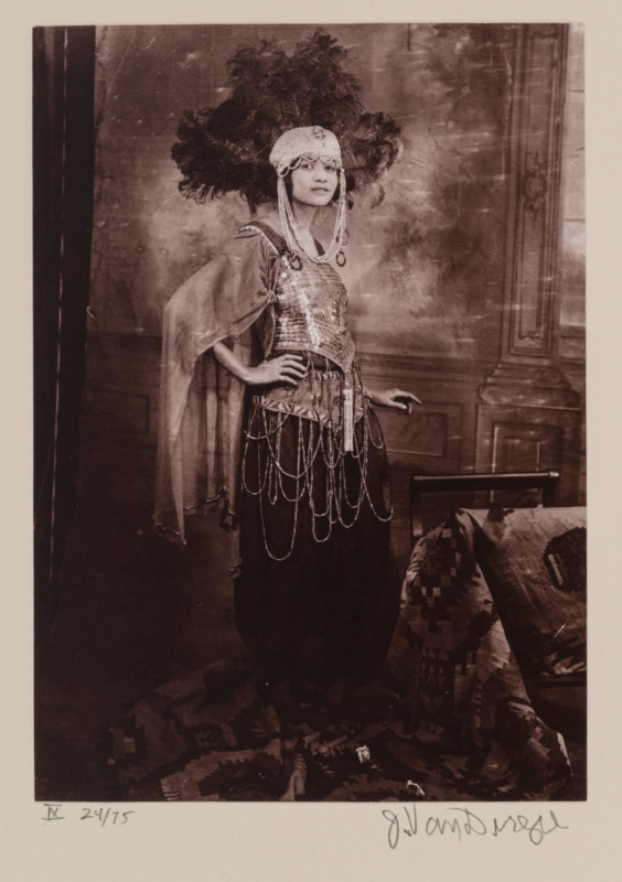 James Augustus Joseph Van Der Zee (American ; 1886-1983), Dancer, Harlem (from