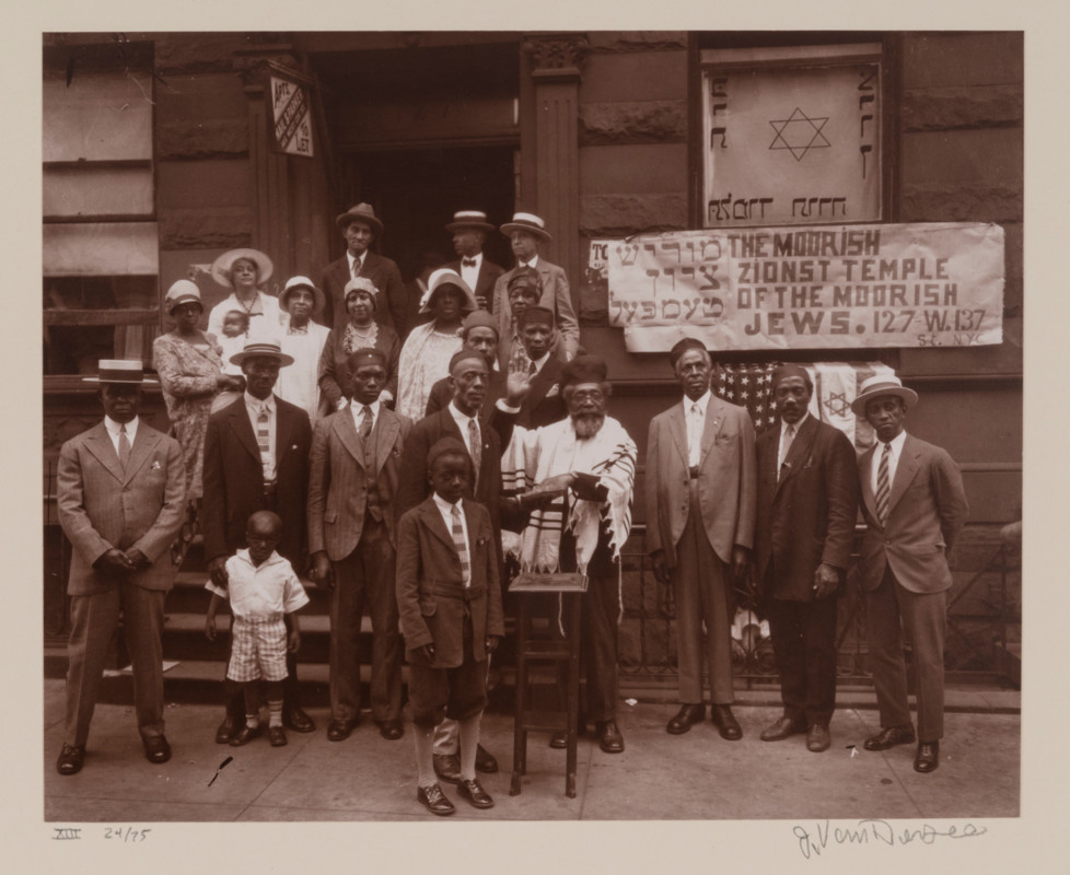 James Augustus Joseph Van Der Zee (American ; 1886-1983), Black Jews, Harlem (from