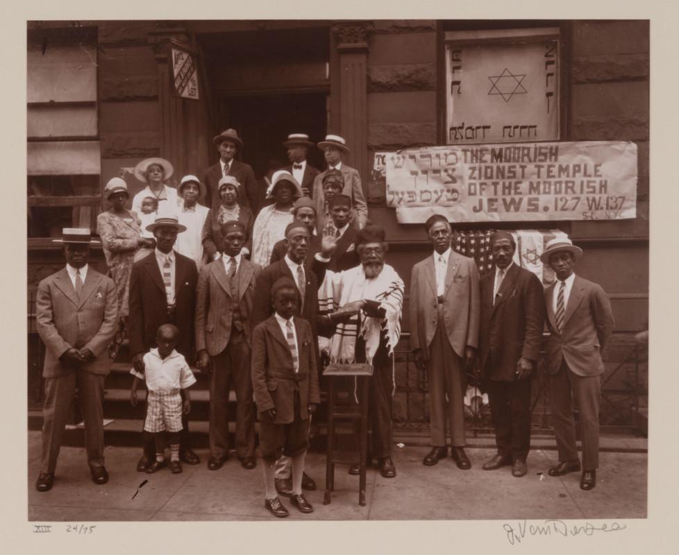 James Augustus Joseph Van Der Zee (American ; 1886-1983), Black Jews, Harlem (from