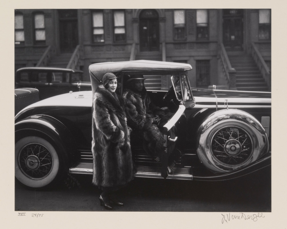 James Augustus Joseph Van Der Zee (American ; 1886-1983), Couple, Harlem (from
