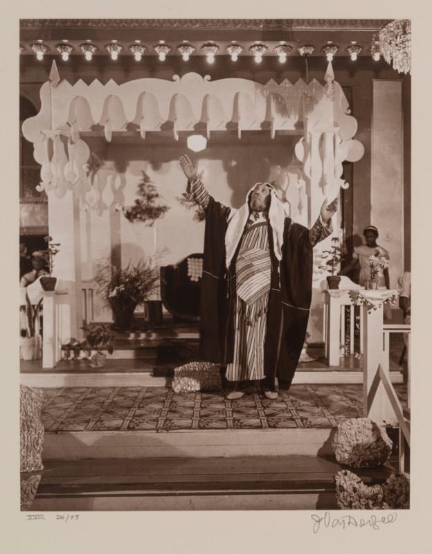 James Augustus Joseph Van Der Zee (American ; 1886-1983), Daddy Grace, Harlem (from