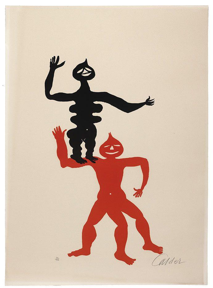 Alexander Calder, Acrobats