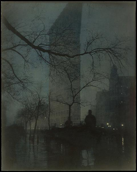 Steichen's 1904 image of the Flatiron Building